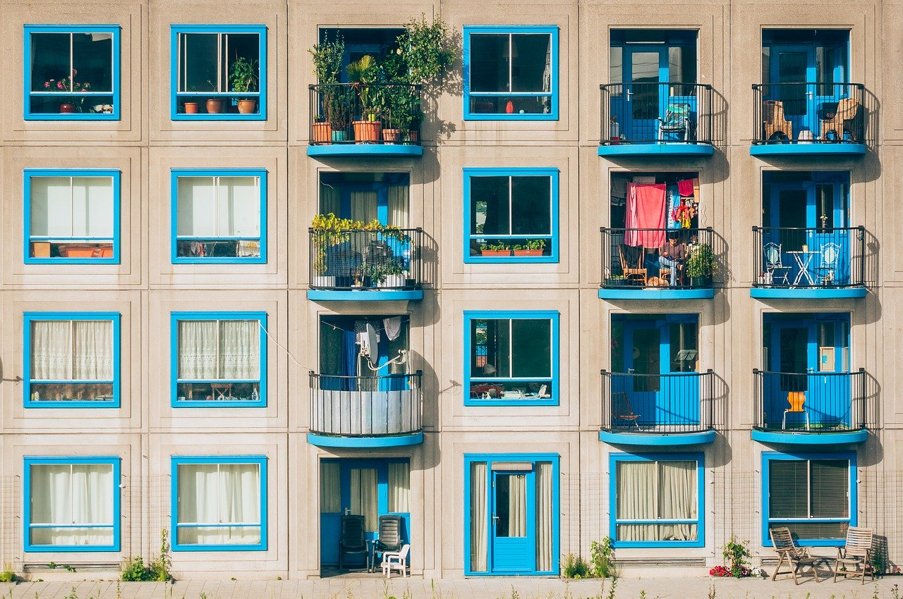 façade d'appartements